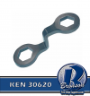 KEN 30620 TX50 1-1/2';,41MM DOUBLE-END CAP NUTWRENCH
