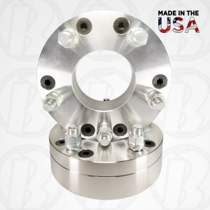"6 Lug x 5.5"" to 5 Lug x 4.5"" Wheel Adapters / 2"" Spacers"