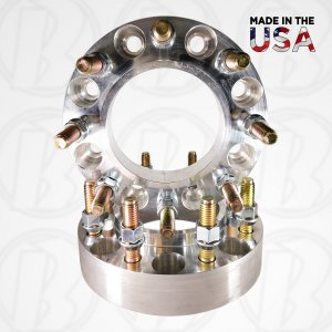 "8x6.5 To 8x180 Hub Centric Wheel Adapters / 1.5"" Spacers"
