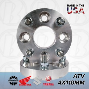 "4x110 ATV To 4x110 Wheel Adapters / 1"" Spacers 