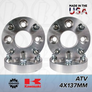 "4x137 ATV to 4x156 Wheel Adapters/Spacers 1"" Thick"