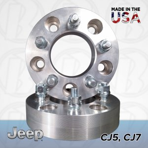 "5x5.5 Jeep To 5x5.5 Wheel Adapters / 1"" Spacers"