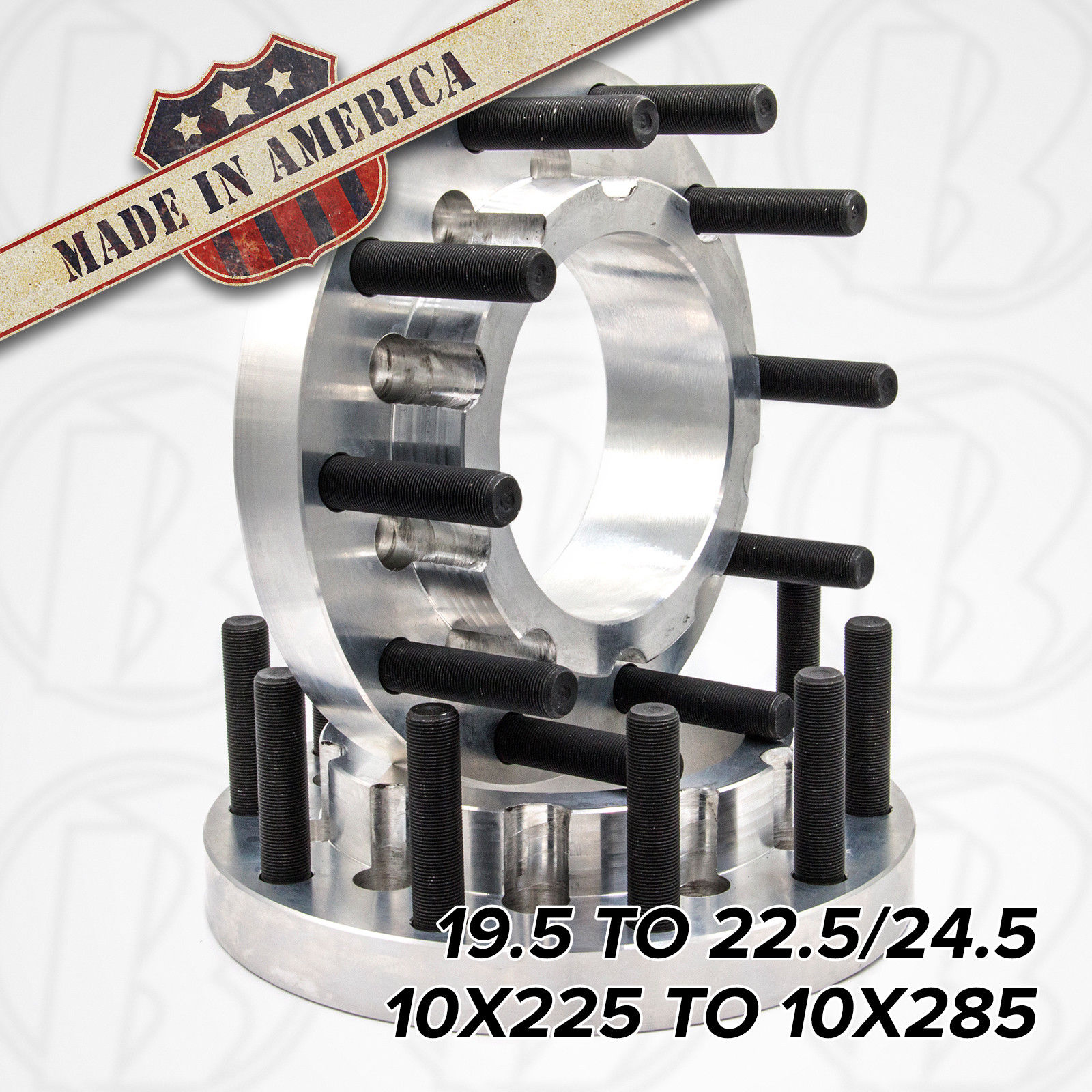 10x225 to 10x285 Wheel Adapter (Dually)