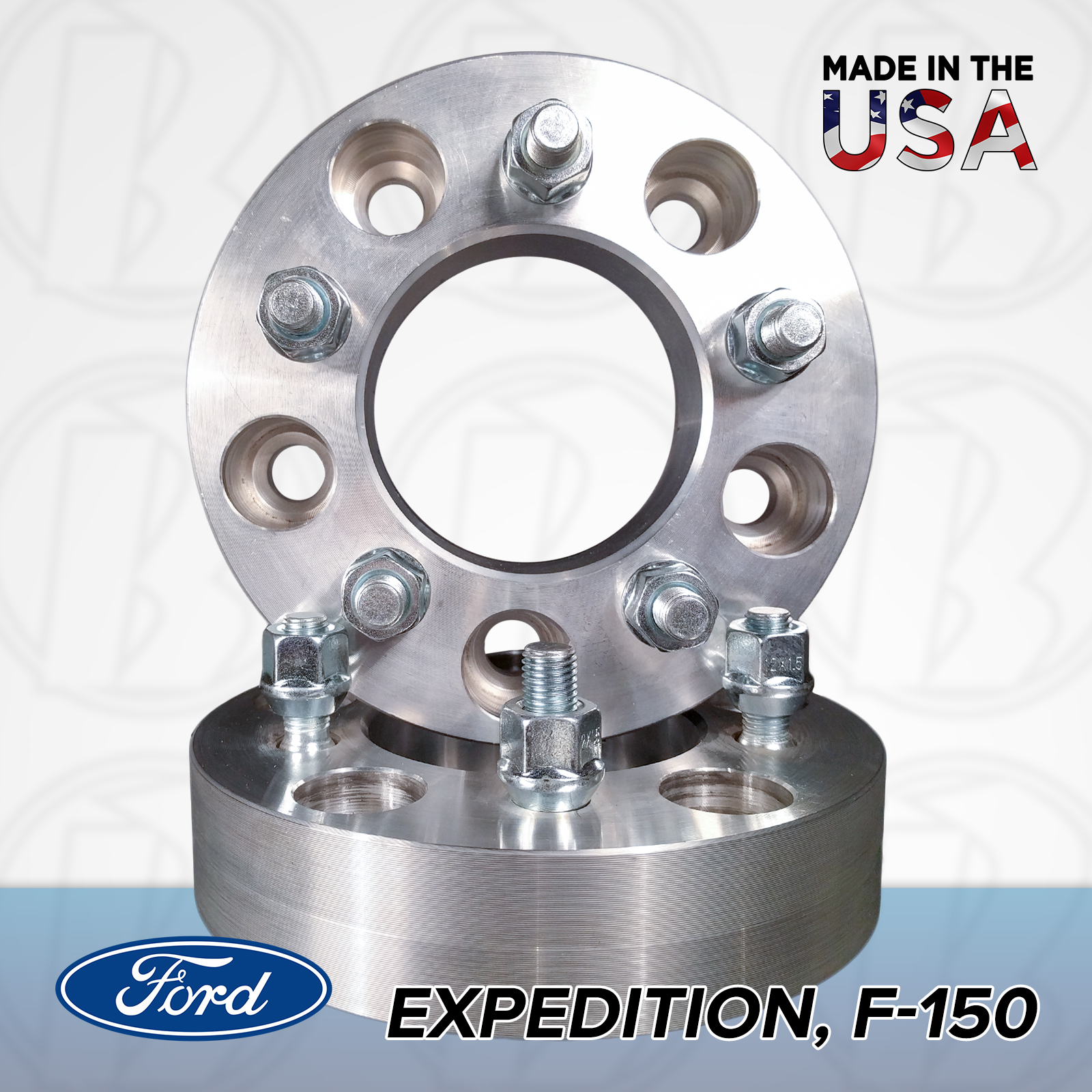 "5x135 Ford To 5x4.5 Wheel Adapters / 1"" Spacers"