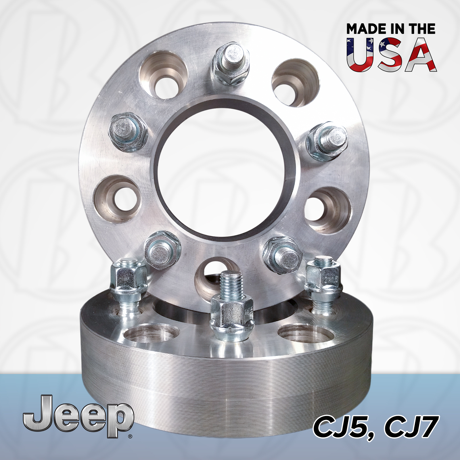 "5x5.5 Jeep To 5x4.5 Wheel Adapters / 1"" Spacers"