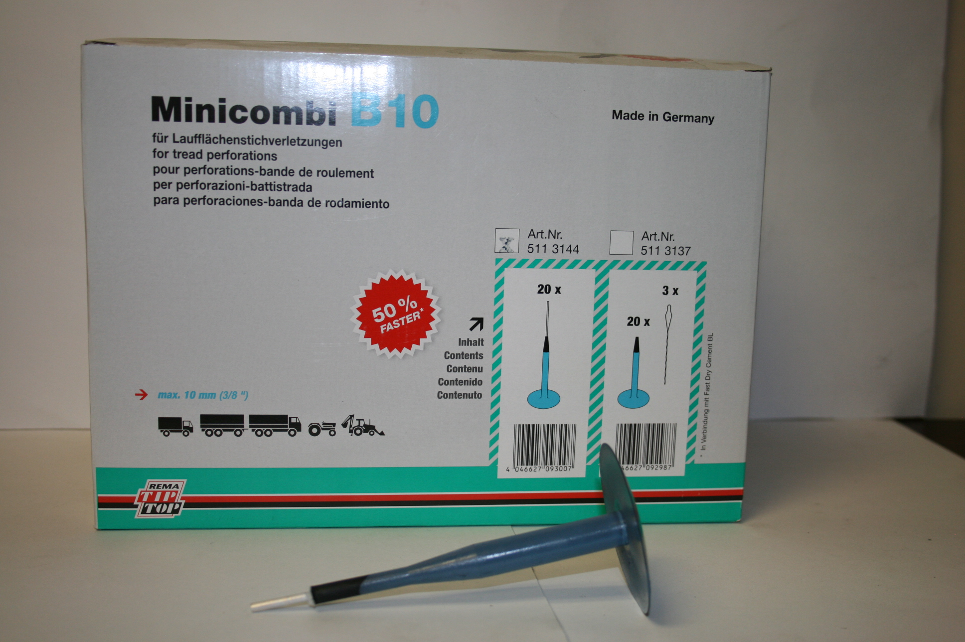 Minicombi B-10 PLUG PATCH