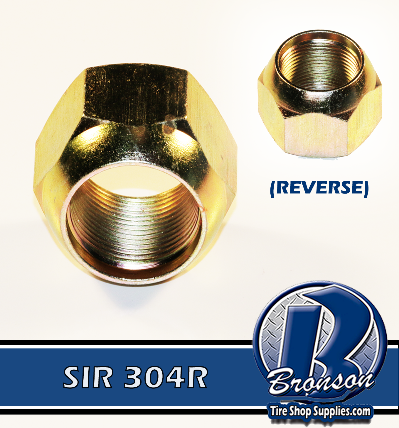 SIR 304R METRIC OUTER NUT