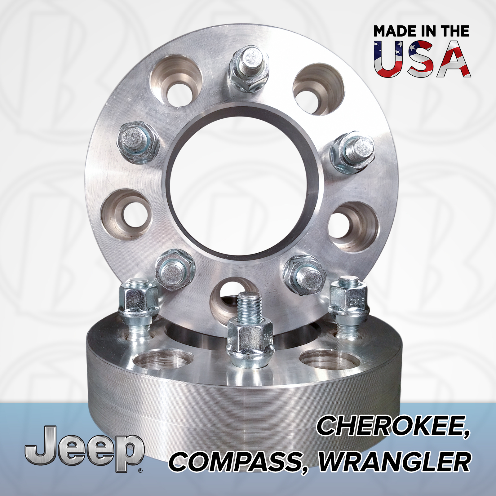 "5x4.5 Jeep To 5x4.75 Wheel Adapters / 1"" Spacers"
