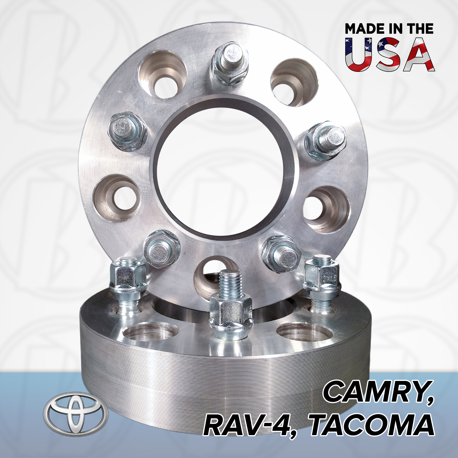"5x4.5 Toyota To 5x4.75 Wheel Adapters / 1"" Spacers"