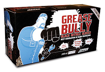GREASE BULLY Nitrile Glov